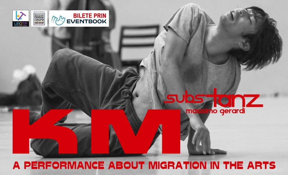 KM - Spectacol de dans contemporan, coregrafia Massimo Gerardi