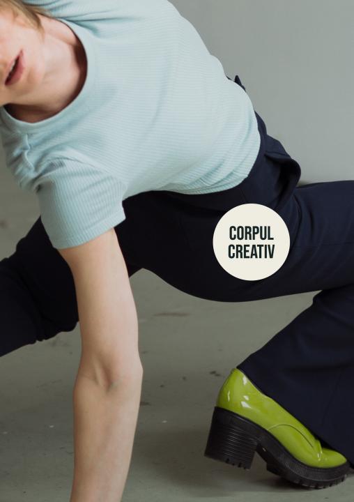 Corpul creativ - workshop de dans contemporan cu Andrea Gavriliu la Linotip Centru Independent Coregrafic